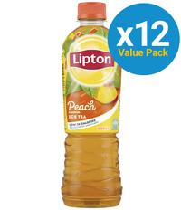 Lipton Ice Tea Peach 500ml (12 Pack)