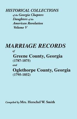Historical Collections of the Georgia Chapters Daughters of the American Revolution. Vol. 5 by Smith image