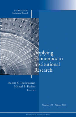 Applying Economics to Institutional Research image