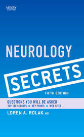 Neurology Secrets by Eli M. Mizrahi image