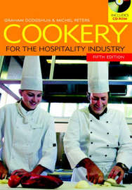 Cookery for the Hospitality Industry by Graham Dodgshun image