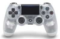 PlayStation 4 Dual Shock 4 V2 Wireless Controller - Crystal for PS4