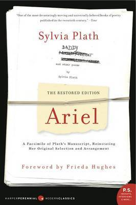 Ariel: The Restored Edition by Sylvia Plath image