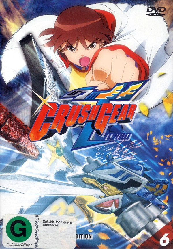 Crush Gear Turbo - Vol. 6 on DVD image