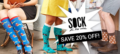 Sock it to me Sale!
