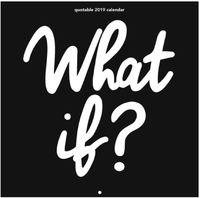 What If? 2019 Wall Calendar