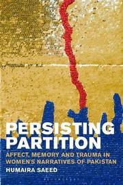 Persisting Partition by Humaira Saeed