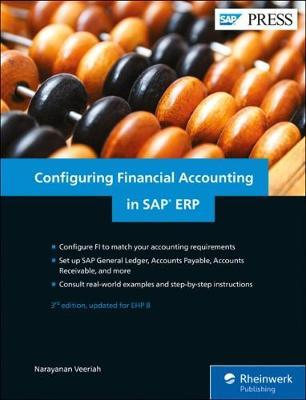 Configuring Financial Accounting in SAP ERP by Narayanan Veeriah image