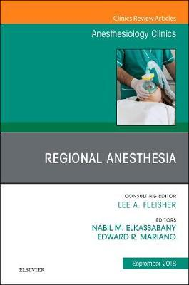 Orthopedics, An Issue of Anesthesiology Clinics by Nabil Elkassabany image