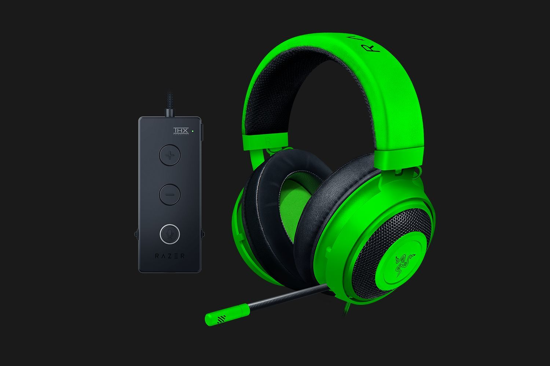 Razer Kraken Tournament Edition Gaming Headset - Green for PC image