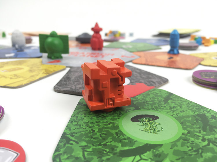 Abandon Planet - Board Game image