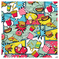 SKINZ: Designs Book Cover - Food (45cm x 1m) image