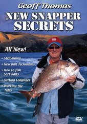 Geoff Thomas: New Snapper Secrets on DVD