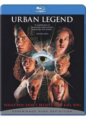 Urban Legend on Blu-ray