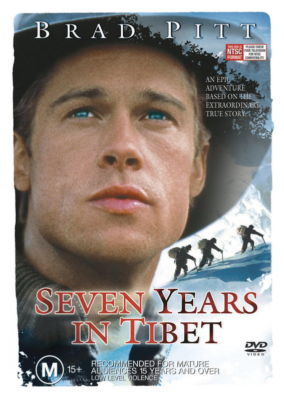 Seven Years In Tibet on DVD