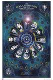 Doctor Who Gallifreyan Wall Poster (87)