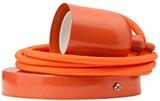 General Eclectic Bulb Holder & Flex - Orange