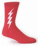 Men's Super Hero Crew Socks (Red)