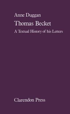 Thomas Becket by Anne Duggan