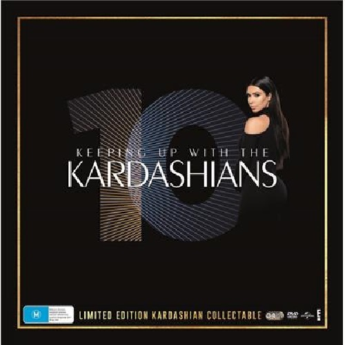 Keeping Up With The Kardashians - 10 Years on DVD image