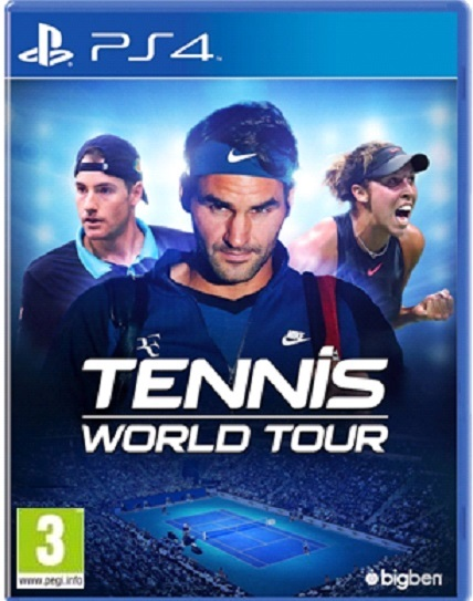 Tennis World Tour for PS4