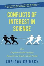 Conflicts of Interest In Science by Sheldon Krimsky image