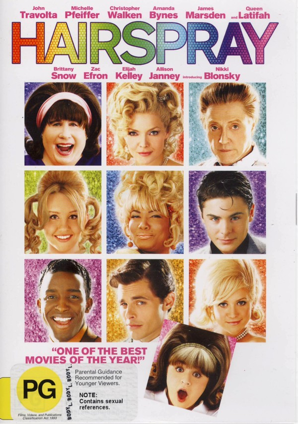 Hairspray (2007) on DVD image