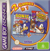 Sonic Advance + Sonic Pinball Party (Double Pack) for Game Boy Advance