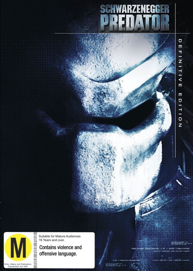 Predator on DVD image