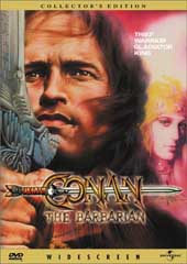 Conan The Barbarian - Special Edition on DVD