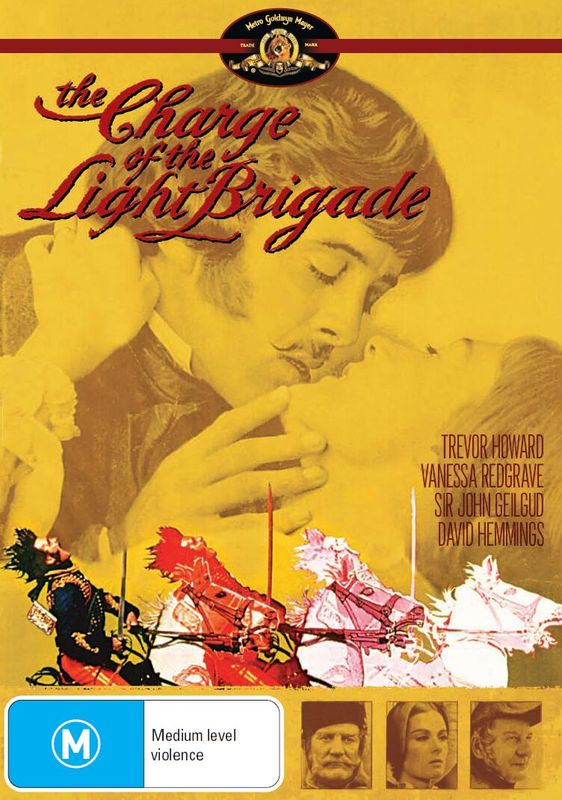 The Charge of The Light Brigade on DVD