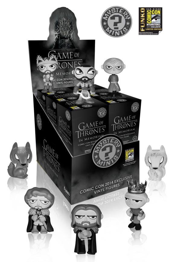 Game of Thrones In Memoriam Mini Vinyl Figure (Blind Assorted) image
