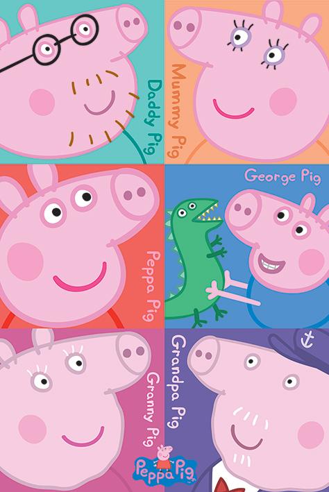 Peppa Pig - Squares Maxi Poster (577)