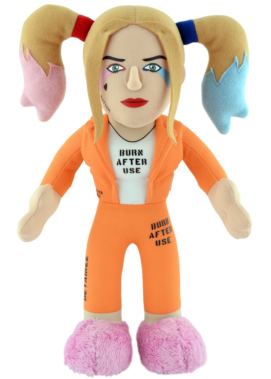 "Bleacher Creatures: Prison Harley Quinn - 10"" Plush Figure image"