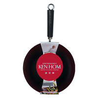 Ken Hom: Non-Stick Carbon Steel Wok (36cm)