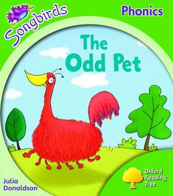 Oxford Reading Tree: Stage 2: Songbirds: the Odd Pet by Julia Donaldson image