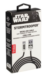 Tribe: MicroUSB Cable - Stormtrooper (1.2m)