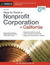How to Form a Nonprofit Corporation in California by Anthony Mancuso image