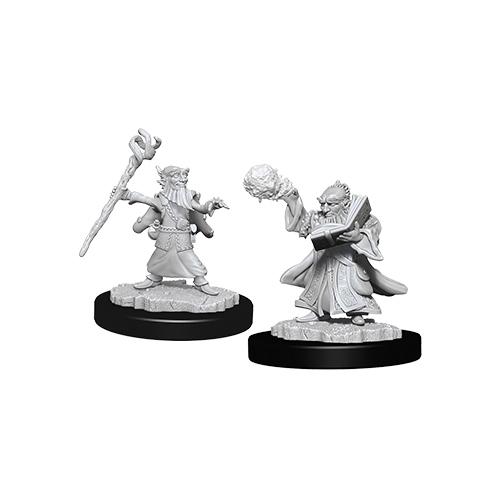 D&D Nolzurs Marvelous: Unpainted Miniatures - Male Gnome Wizard image