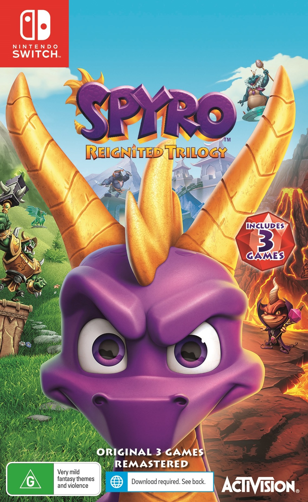 Spyro Reignited Trilogy for Switch image
