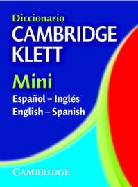 Diccionario Cambridge Klett Mini Espanol-Ingles/English-Spanish image