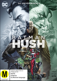 Batman - Hush on DVD image