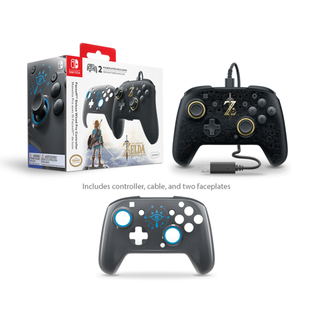 PDP Faceoff Wired Pro Controller for Switch - Zelda for Switch