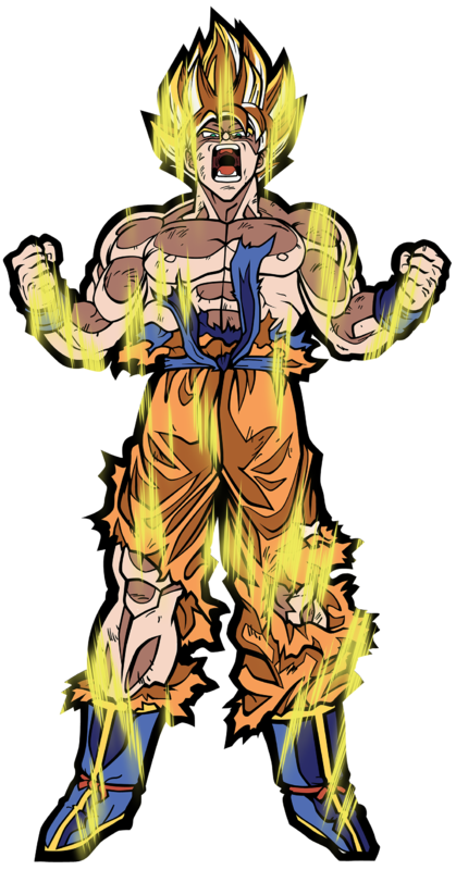 Dragon Ball Z: SS Goku (#X2) - XL FiGPiN