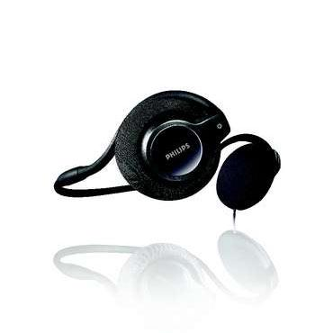 Philips SHS8200 Foldable Neckband Headphone image