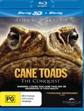 Cane Toads - The Conquest on Blu-ray, 3D Blu-ray