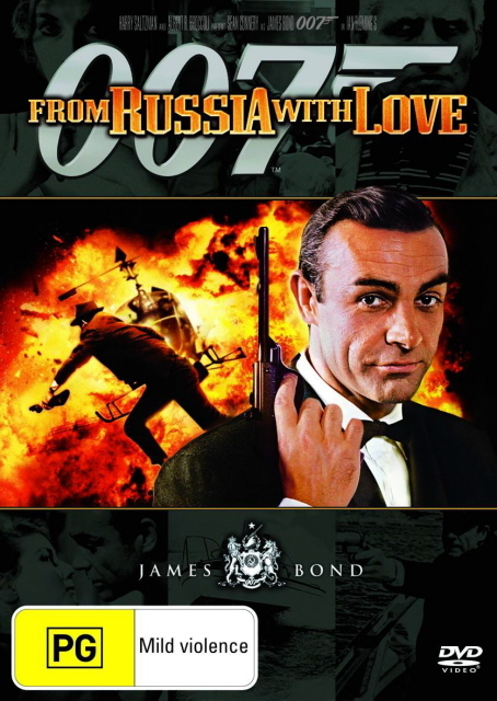 James Bond - From Russia With Love on DVD