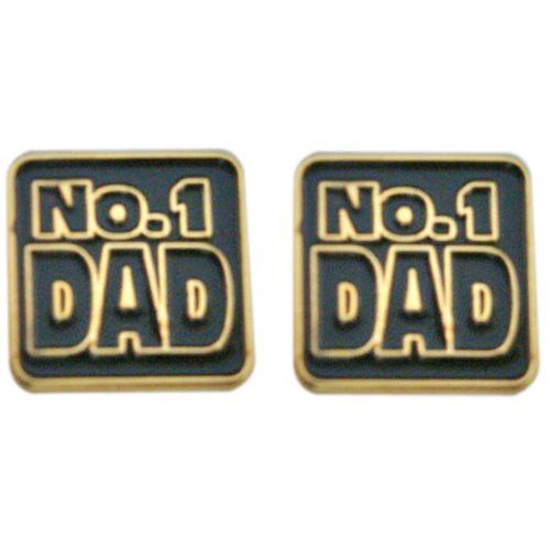 Number One Dad Cufflinks