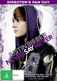 Justin Bieber: Never Say Never - Director's Fan Cut DVD