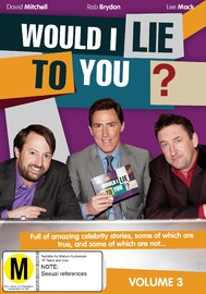 Would I Lie To You? Volume 3 on DVD